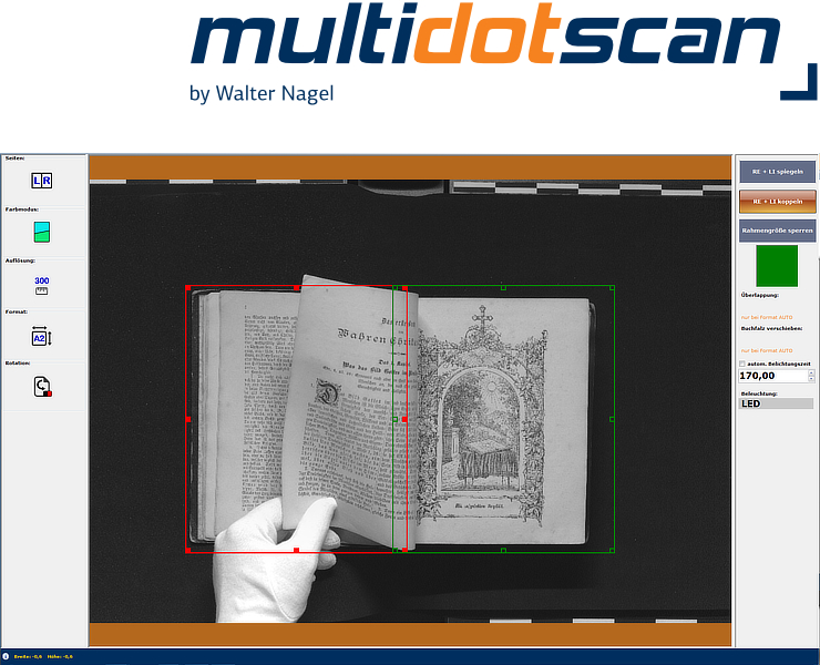 multidotscan - LivePreview