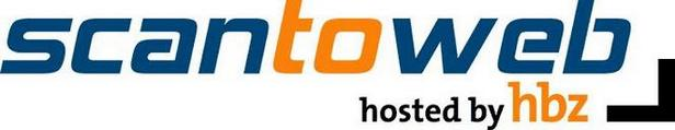 Logo scantoweb hosted by hbz